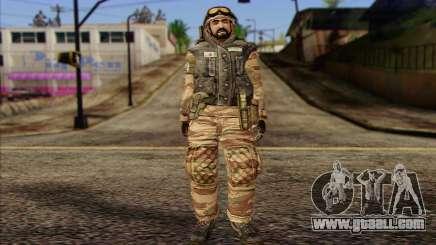 Soldiers MEK (Battlefield 2) Skin 3 for GTA San Andreas