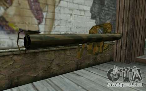 Panzerschreсk from Day of Defeat for GTA San Andreas second screenshot