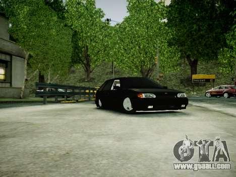 VAZ 2114 for GTA 4 left view