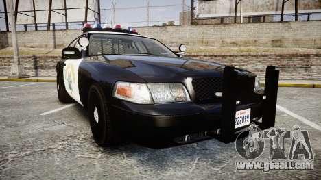Ford Crown Victoria CHP CVPI Vision [ELS] for GTA 4