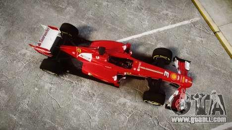 Ferrari F138 v2.0 [RIV] Alonso TSD for GTA 4 right view