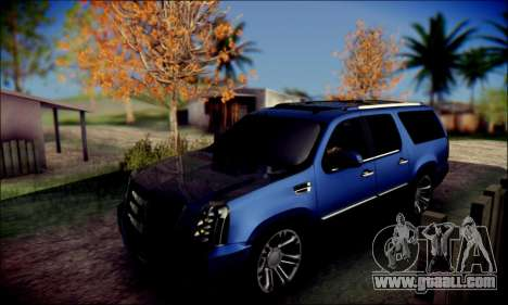 Cadillac Escalade Ninja for GTA San Andreas inner view