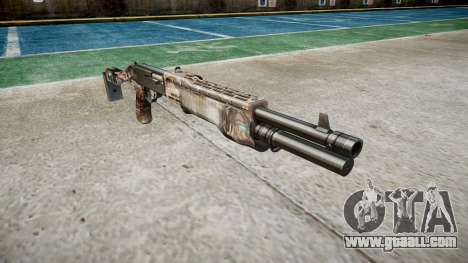 Ружьё Franchi SPAS-12 Zombies for GTA 4