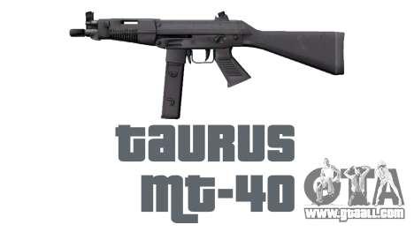Gun Taurus MT-40 buttstock1 icon2 for GTA 4 third screenshot