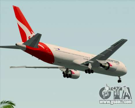 Boeing 767-300ER Qantas (New Colors) for GTA San Andreas right view