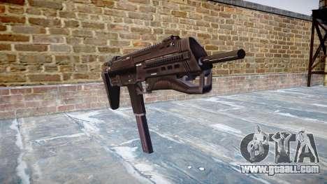 Submachine gun HK MP7 for GTA 4