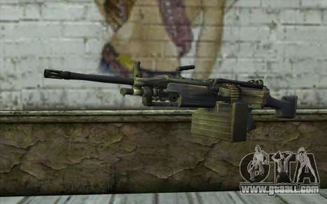 FN M249E2 SAW from SoF: Payback for GTA San Andreas