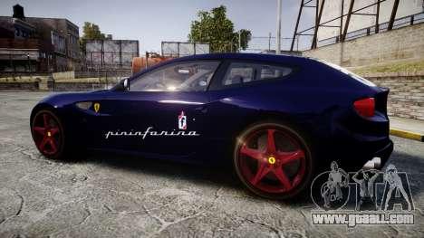 Ferrari FF 2012 Pininfarina Blue for GTA 4 left view