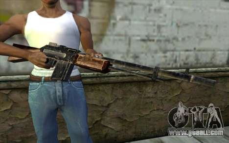 BAR-1918 from Day of Defeat for GTA San Andreas third screenshot