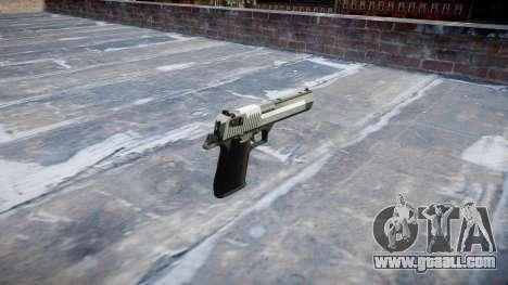 Пистолет IMI Desert Eagle Mk XIX Two-tone for GTA 4 second screenshot