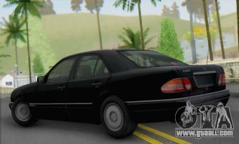 Mercedes-Benz E420 W210 for GTA San Andreas left view