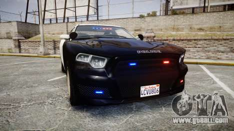 GTA V Bravado Buffalo LS Police [ELS] Slicktop for GTA 4