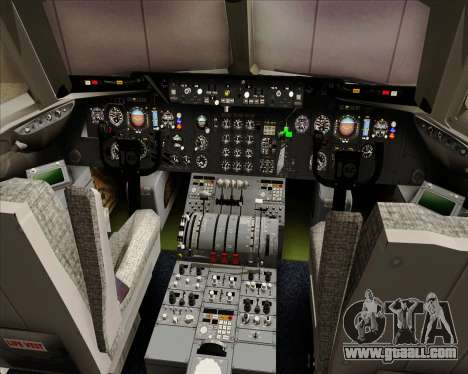 McDonnell Douglas DC-10-30 American Airlines for GTA San Andreas interior