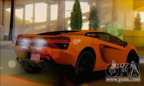 Pegassi Vacca (IVF) for GTA San Andreas left view