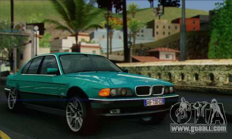 BMW 7-series for GTA San Andreas