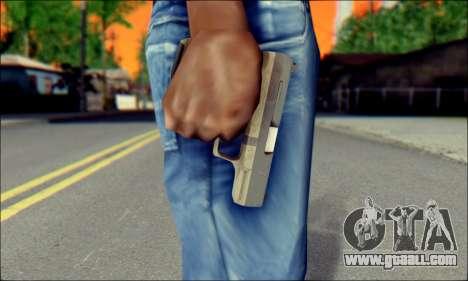 Walther P99 Bump Mapping v2 for GTA San Andreas third screenshot