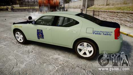 Dodge Charger 2010 Alabama State Troopers [ELS] for GTA 4 left view