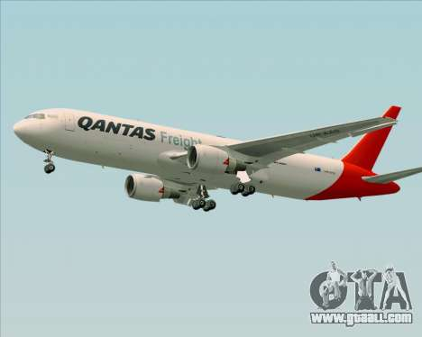 Boeing 767-300F Qantas Freight for GTA San Andreas engine