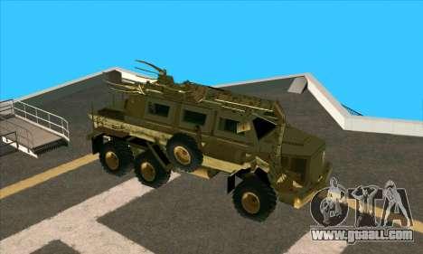 Bonecrusher Transformers 2 for GTA San Andreas back left view