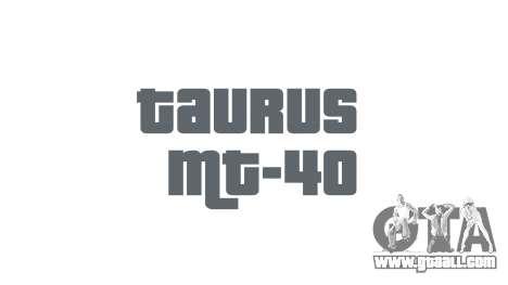 Gun Taurus MT-40 buttstock1 icon1 for GTA 4 third screenshot