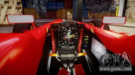 Ferrari F138 v2.0 [RIV] Massa THD for GTA 4 inner view