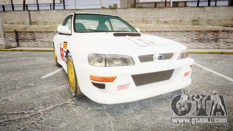 Subaru Impreza WRC 1998 SA Competio for GTA 4