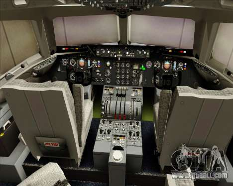 McDonnell Douglas DC-10-30 World Airways for GTA San Andreas interior