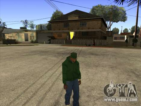Cleo Walk Style for GTA San Andreas second screenshot