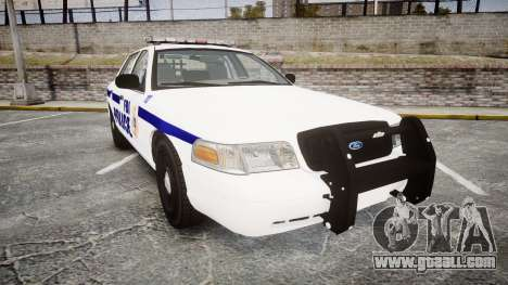 Ford Crown Victoria F.B.I. Police [ELS] for GTA 4