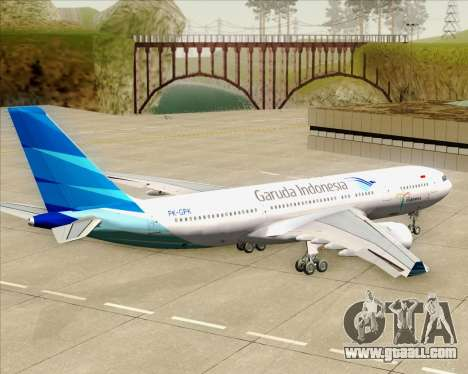 Airbus A330-243 Garuda Indonesia for GTA San Andreas