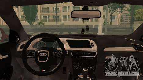 Audi S4 for GTA San Andreas back left view