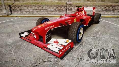 Ferrari F138 v2.0 [RIV] Massa TFW for GTA 4