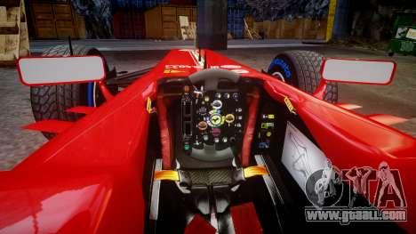 Ferrari F138 v2.0 [RIV] Massa TFW for GTA 4 inner view