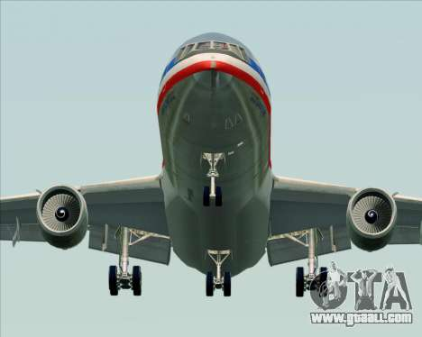 McDonnell Douglas DC-10-30 American Airlines for GTA San Andreas back view