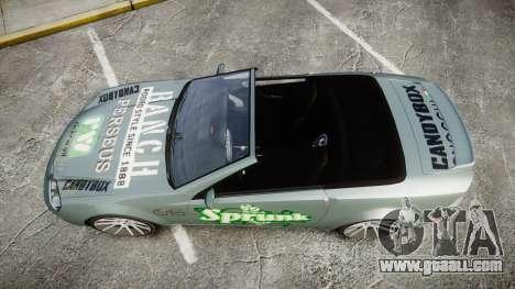 Benefactor Feltzer Grey Series v2 for GTA 4 right view
