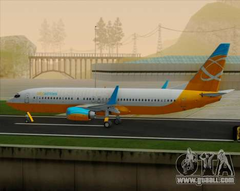Boeing 737-800 Orbit Airlines for GTA San Andreas