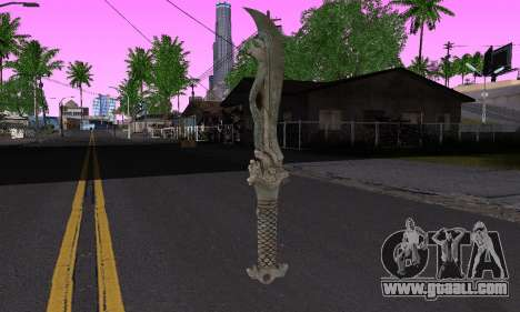 The same blade (FarCry 3) for GTA San Andreas second screenshot