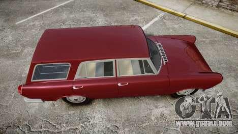 FSO Warszawa Ghia Kombi 1959 for GTA 4 right view