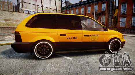 Schyster Cabby Taxi for GTA 4 left view