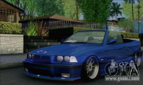 BMW M3 E36 Cabrio for GTA San Andreas