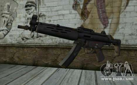 MP5 from FarCry 3 for GTA San Andreas