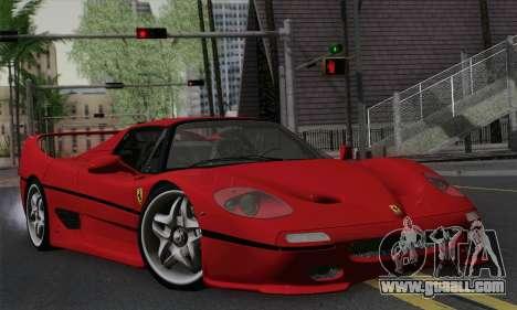 Ferrari F50 1995 Autovista for GTA San Andreas