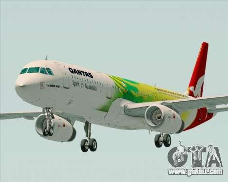 Airbus A321-200 Qantas (Socceroos Livery) for GTA San Andreas
