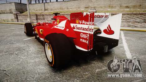 Ferrari F138 v2.0 [RIV] Massa THD for GTA 4 back left view