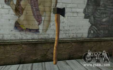 Axe (DayZ Standalone) for GTA San Andreas second screenshot