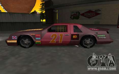 New decals and non Hotring for GTA San Andreas left view