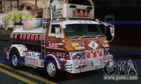 Isuzu ELF for GTA San Andreas