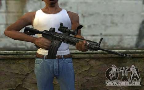 HK416 (Bump mapping) v2 for GTA San Andreas third screenshot