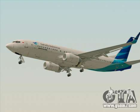 Boeing 737-800 Garuda Indonesia for GTA San Andreas inner view
