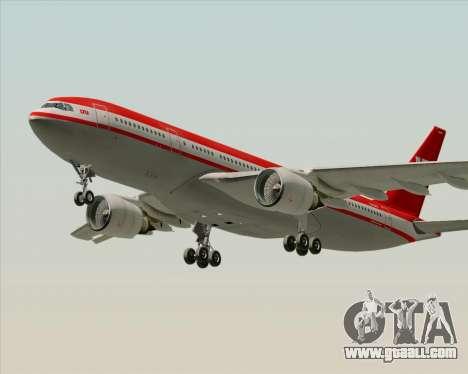 Airbus A330-200 LTU International for GTA San Andreas interior
